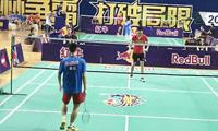 付翔VS梁雨 2013羽林争霸 西区决赛男单半决赛视频
