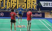 蔡健/卢婧雯VS汤文/马骁骁 2013羽林争霸 西区决赛混双决赛视频