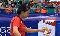 陈宏麟/程文欣VS爱德考克/怀特 2013世锦赛 混双1/16决赛视频