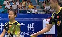徐晨/马晋VS科丁/尤尔 2013世锦赛 混双资格赛视频