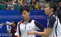 格里斯威斯基/迈克斯VS陈虹蓉/周凯华 2013世锦赛 女双资格赛视频