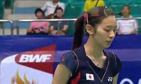 高桥沙也加VS郑清亿 2013世锦赛 女单资格赛视频