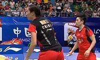 王晓理/于洋VS程文欣/谢沛蓁 2013羽毛球世锦赛 女双1/16决赛视频