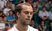 约根森VS周天成 2013羽毛球世锦赛 男单1/16决赛视频