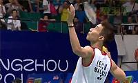 李宗伟VS狄奥尼修斯 2013羽毛球世锦赛 男单1/16决赛视频