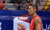 林丹VS张维峰 2013羽毛球世锦赛 男单1/8决赛视频