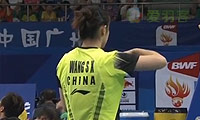 王适娴VS广濑荣理子 2013羽毛球世锦赛 女单1/8决赛视频