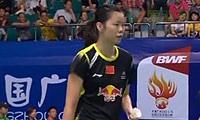 李雪芮VS法内特里 2013羽毛球世锦赛 女单1/8决赛视频