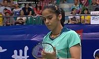 内维尔VS蓬迪 2013羽毛球世锦赛 女单1/8决赛视频