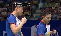 金基正/金沙朗VS古健杰/陈文宏 2013羽毛球世锦赛 男双1/4决赛视频