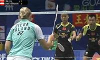 徐晨/马晋VS马特斯亚克/希尔巴 2013羽毛球世锦赛 混双1/4决赛视频