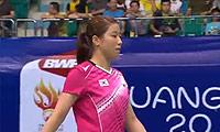 裴延姝VS内维尔 2013羽毛球世锦赛 女单1/4决赛视频