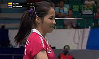 因达农VS马琳 2013羽毛球世锦赛 女单1/4决赛视频