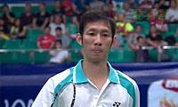 阮天明VS约根森 2013羽毛球世锦赛 男单1/4决赛视频