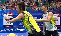 阿山/塞蒂亚万VS蔡赟/傅海峰 2013羽毛球世锦赛 男双半决赛视频