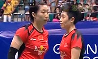 于洋/王晓理VS严惠媛/张艺娜 2013羽毛球世锦赛 女双决赛视频
