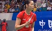 因达农VS李雪芮 2013羽毛球世锦赛 女单决赛视频