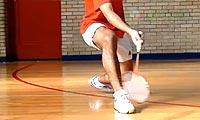 羽毛球步法:全场步法练习