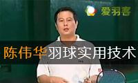 《陈伟华羽毛球实用技术》