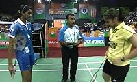内维尔VS辛德胡 2013印度羽毛球联赛 女单资格赛视频