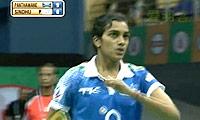 辛德胡VS阿伦达蒂 2013印度羽毛球联赛 女单资格赛视频