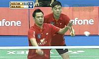 陈文宏/古健杰VS基多/鲍伊 2013印度羽毛球联赛 男双资格赛视频