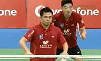陈文宏/古健杰VS摩根森/迪瓦卡 2013印度羽毛球联赛 男双资格赛视频
