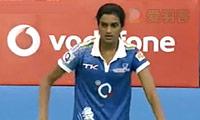 辛德胡VS鲍恩 2013印度羽毛球联赛 女单资格赛视频