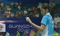 因达农VS叶姵延 2013羽毛球世锦赛 女单1/8决赛视频