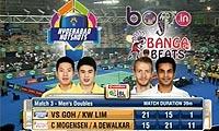 摩根森/迪瓦卡VS吴伟申/林钦华 2013印度羽毛球联赛 男双半决赛视频