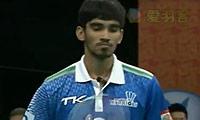 斯里坎特VS坦农萨克 2013印度羽毛球联赛 男单决赛视频
