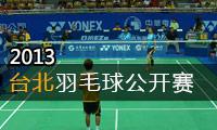 2013年中华台北羽毛球公开赛
