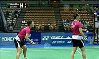 李绍希/申升瓒VS王荣/张之博 2013台北公开赛 女双半决赛视频