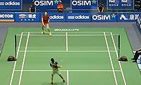 李雪芮VS玛努布蒂 2013中国大师赛 女单1/16决赛视频