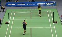 周文龙VS狄奥尼修斯 2013中国大师赛 男单1/16决赛视频