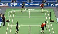 乔丹/玛丽莎VS苏吉特/莎拉丽 2013中国大师赛 混双1/8决赛视频