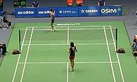 高桥沙也加VS汪鑫 2013中国大师赛 女单1/8决赛视频