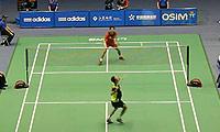 坂井一将VS杜鹏宇 2013中国大师赛 男单1/16决赛视频