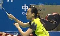 张楠/赵芸蕾VS基多/皮娅 2013中国大师赛 混双半决赛视频
