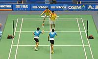 高成炫/李龙大VS史龙飞/张宁一 2013中国大师赛 男双1/8决赛视频