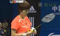 刘鑫VS蓬迪 2013中国大师赛 女单决赛视频
