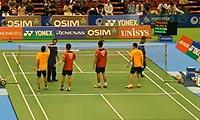 桥本博且/平田典靖VS苏吉特/巴甲瓦 2013日本公开赛 男双1/16决赛视频