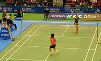 王适娴VS叶姵延 2013日本公开赛 女单1/16决赛视频