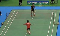 古财和辉VS谌龙 2013日本公开赛 男单1/16决赛视频