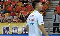 谌龙VS王睁茗 2013中国羽超联赛 男单资格赛视频