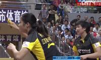 孙晓黎/何冰娇VS冯晨/肖嘉 2013中国羽超联赛 女双资格赛视频