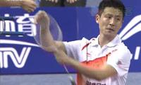 蔡赟/傅海峰VS罗成/何汉斌 2013中国羽超联赛 男双资格赛视频