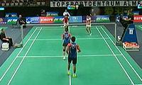 鲁波宁/阿曼达VS谌卓夫/杜芃 2013荷兰公开赛 混双1/8决赛视频