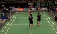 鲁恺 /汤金华VS陆基/安妮莎 2013荷兰公开赛 混双1/8决赛视频