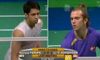 约根森VS卡什亚普 2013丹麦公开赛 男单1/8决赛视频